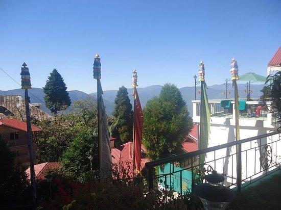Little Tibet Resort: garden views