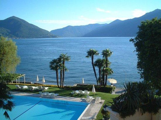 Lago maggiore from our room picture of hotel eden roc for Designhotel lago maggiore