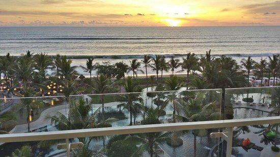 W Bali - Seminyak : Sunset view at my ocean view