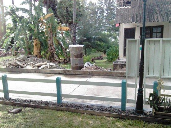 Andaman Seaview Hotel: если выглянуть из кустов номера 116