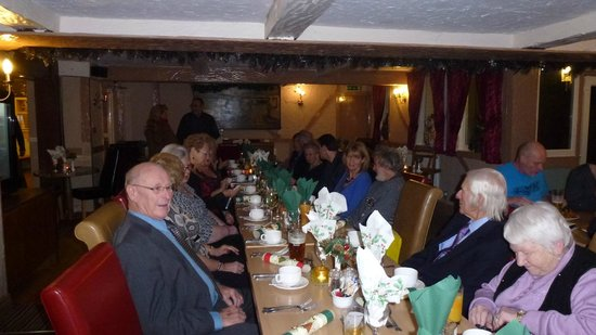Wrygarth Inn: Hornsea Civic Society Christmas Dinner.