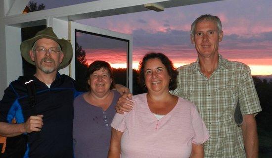 Snowvillage Inn : Great night on the porch!
