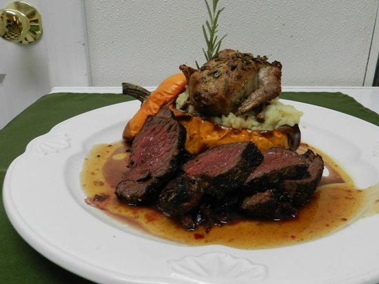 Snowvillage Inn : Chef Brian recently won Best New NH CHEF!