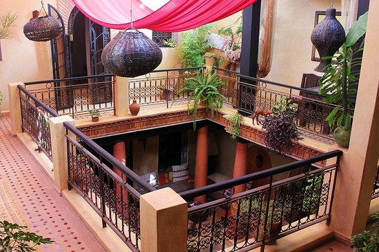 Riad Amani : Interior courtyard