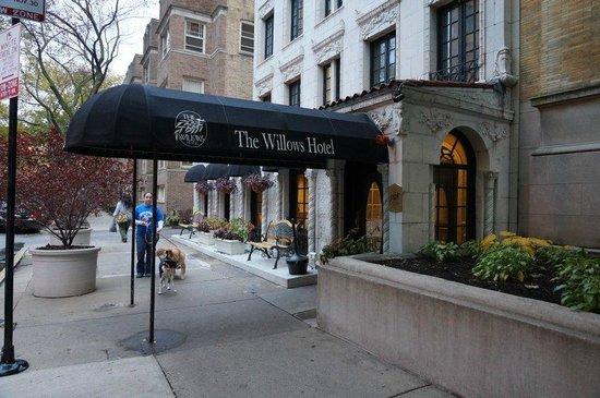The Willows: Schönes Hotel