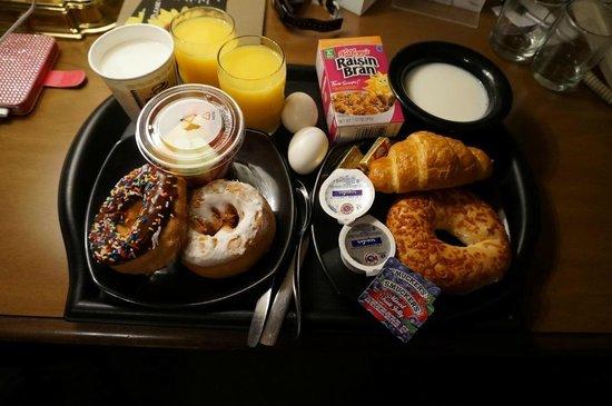 The Willows: Leckeres Frühstück mit großer Auswahl