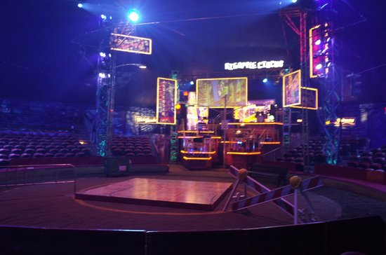 Big Apple Circus: Before the show starts