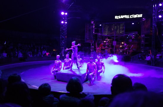 Big Apple Circus: Human projectile group - too amazing and breathtaking performance!