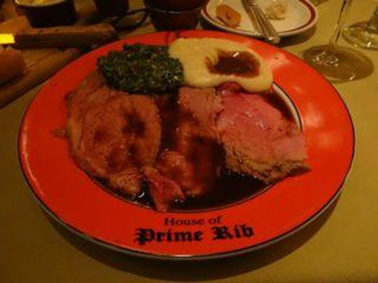 House of Prime Rib : It all runs together in deliciousness