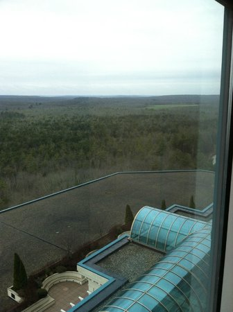 Grand Pequot Tower: room window