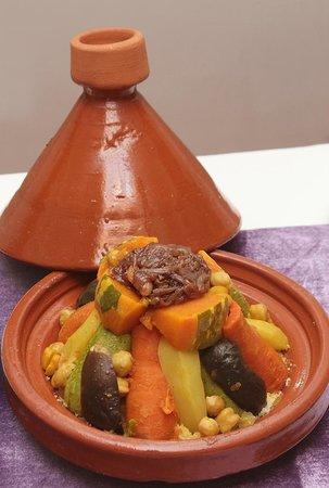 Riad de la Semaine : Spécialité marocaine Couscous légumes