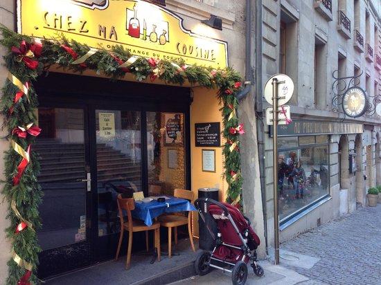 Chez Ma Cousine : Fachada del restaurante