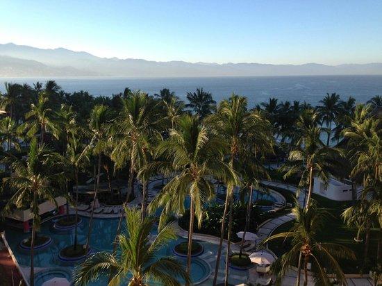 The Westin Resort & Spa Puerto Vallarta: Full Ocean View Room - view from balcony