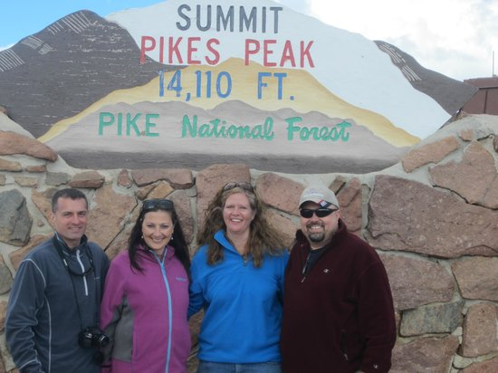 Pikes Peak - America's Mountain: Top of the mountain