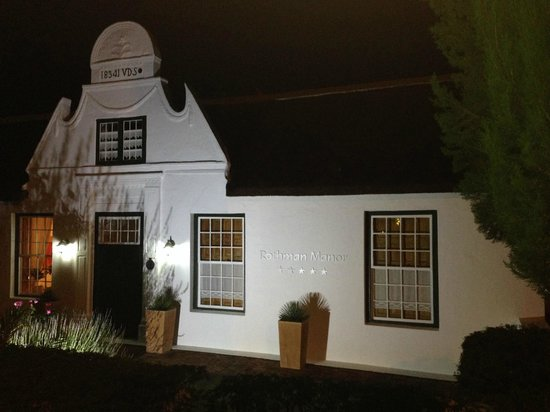 Rothman Manor: Roth Manor by night
