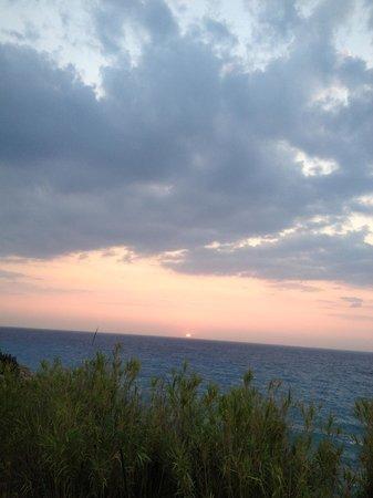 Villa Eva: sunset