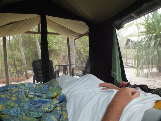 Great Keppel Island Holiday Village: View from the bed!
