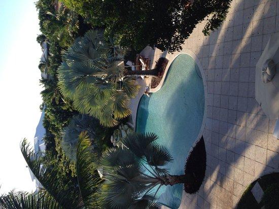 Villa del Mar: View of pool from room C302