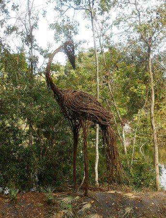 Jacksonville Arboreteum & Gardens : Arboretum Sculpture