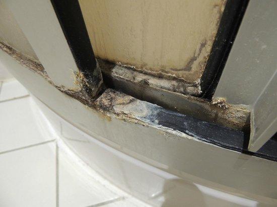 Hotel Sainte Odile : Shower door - yuck.
