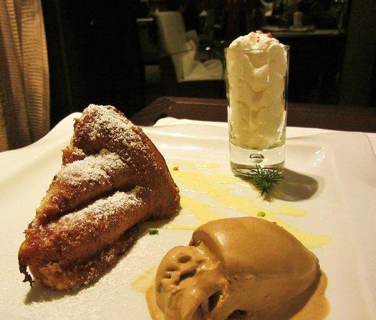 Les Alisiers Hotel-Restaurant : ужин