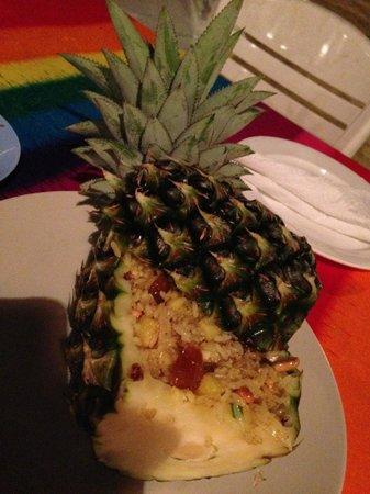 Beach Bar: Pineapple Rice