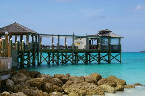 Sandals Royal Bahamian Spa Resort & Offshore Island: GORDONS ON THE PIER