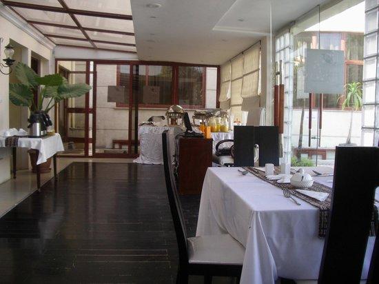 Tizeze Hotel: The restaurant