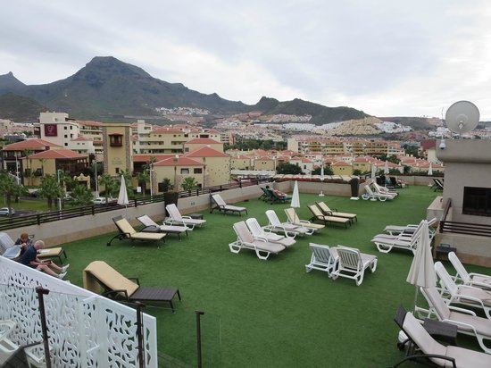 Fanabe Costa Sur Hotel: Roof Top Terrace