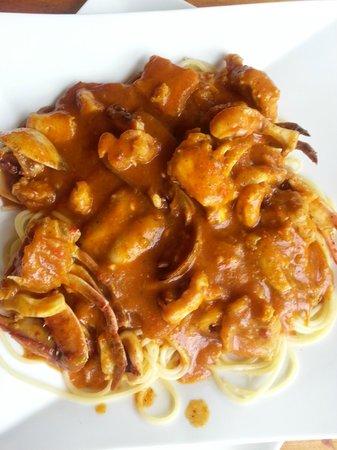 Restaurante Garra-Pata: Seafood Spaghetti