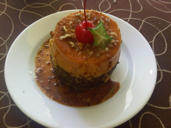 Crowne Plaza Hotel de Mexico: sobremesa do brunch de domingo