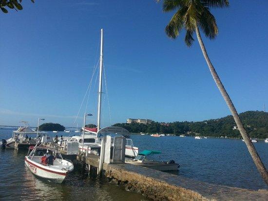 Grand Bahia Principe El Portillo: promenade en bâteau