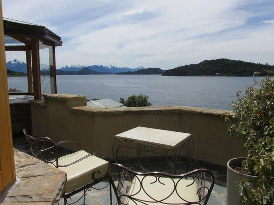 Lirolay Suites : terraza