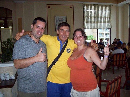 IBEROSTAR Laguna Azul: Adrien, my wife and I