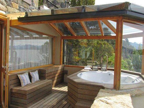 Lirolay Suites: terraza habitacion
