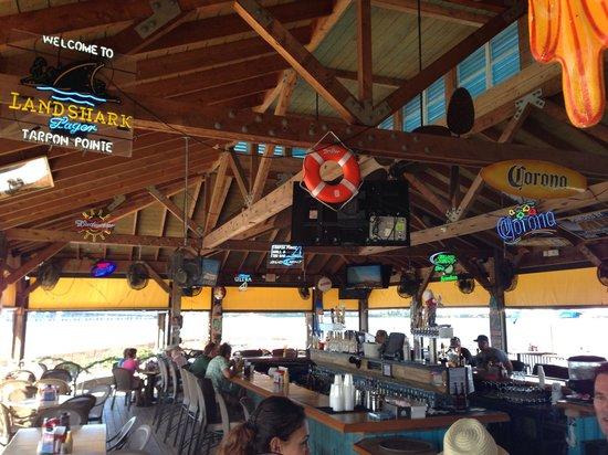 Tarpon Point Grill and Tiki Bar: The bar