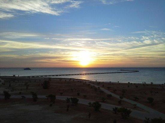 Sheraton Soma Bay Resort: Sunrise from the room