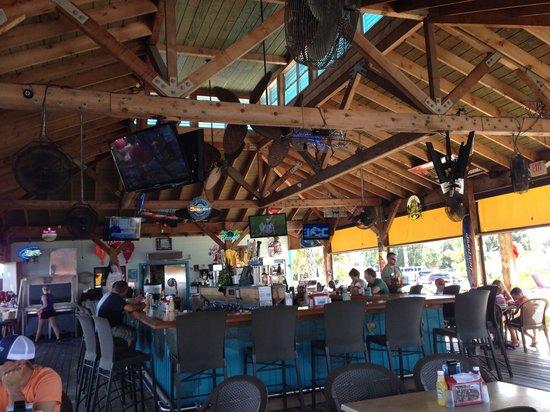 Tarpon Point Grill and Tiki Bar: The main bar