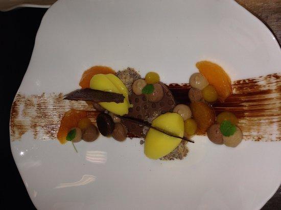 De Castillion Hotel: Heerlijk dessert met Mandarijn & Chocolade!!