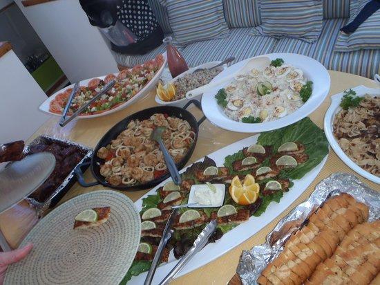 bahía de Simpson, St. Maarten: Scrumptious lunch