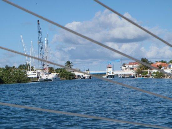 bahía de Simpson, St. Maarten: Scenary