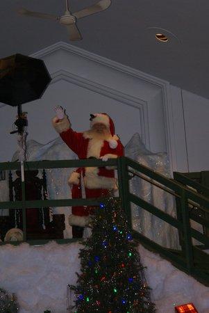 Castle Noel: Santa Waving