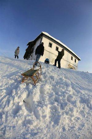 Old Castle (Stari Grad) : Kids having fun near castle
