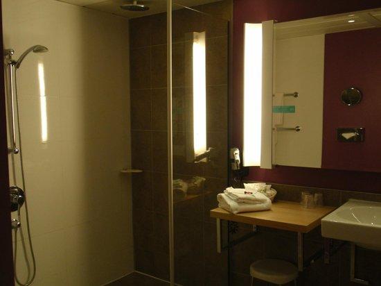 Mercure Carcassonne La Cite Hotel: Baño zona ducha