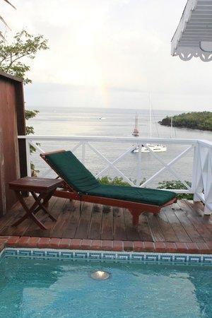 Ti Kaye Resort & Spa: Next to the plunge pool