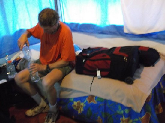 Kin Balam Cabanas Palenque : inside room
