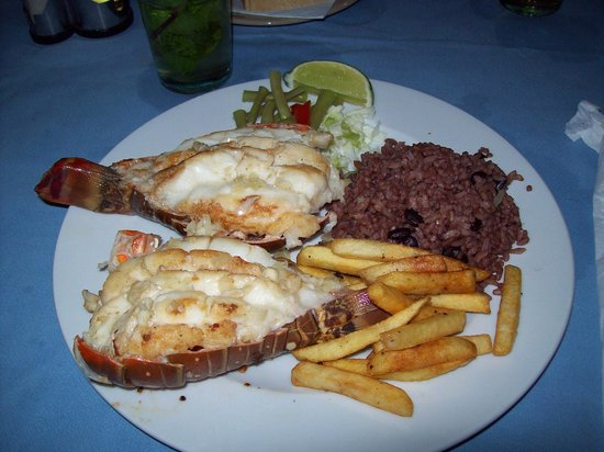 El Caney: My Wifes 2 Lobster Tails
