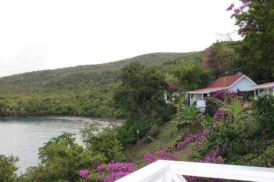 Ti Kaye Resort & Spa : Another view from our porch