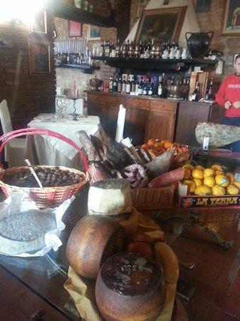Ristorante Le Casaline : Il buffet