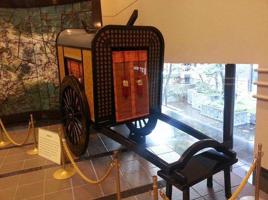 Kyoto Tokyu Hotel: Фойе гостиницы...